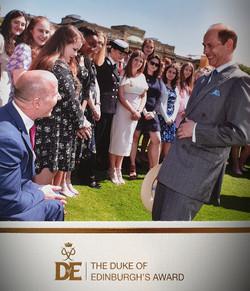 DofE Gold awards - Prince Edward