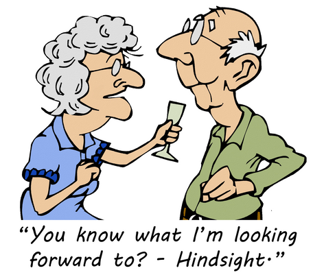 Your hindsight is someone else's best advice