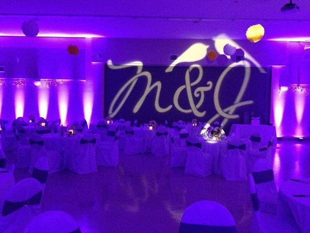 Did you know we did uplights and GOBO li