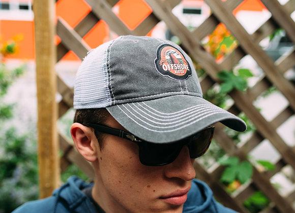 Grey Logo Trucker Hat