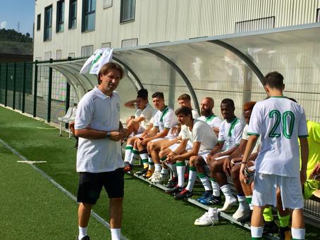 Domani amichevole, sabato l'esordio in Coppa Italia