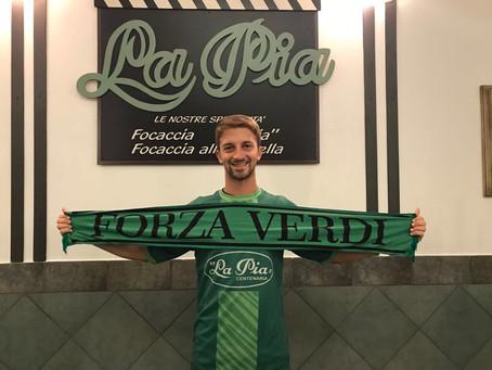 Comunicato ufficiale, benvenuto in maglia Verde Christian!