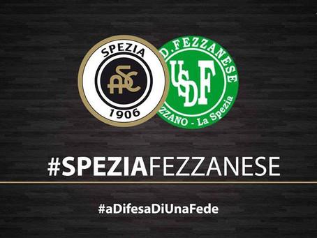 Gli auguri ed i ringraziamenti della Fezzanese allo Spezia Calcio