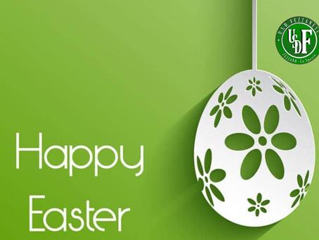 Auguri di buona Pasqua dalla Fezzanese