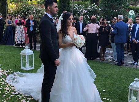 Fiori d'arancio, congratulazioni a Pasquale e Serena