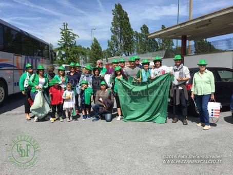 Fezzanese - Viareggio: domenica c'è bisogno di te, coloriamo lo stadio di Verde!