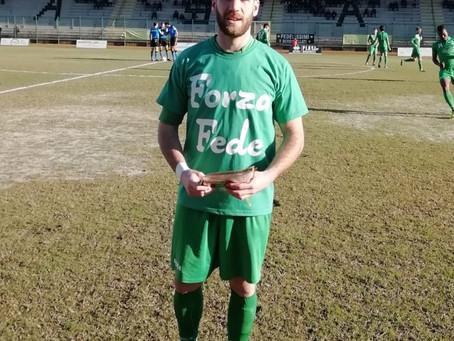 A Casale la Fezzanese ritrova i gol di Baudi, ma non la vittoria