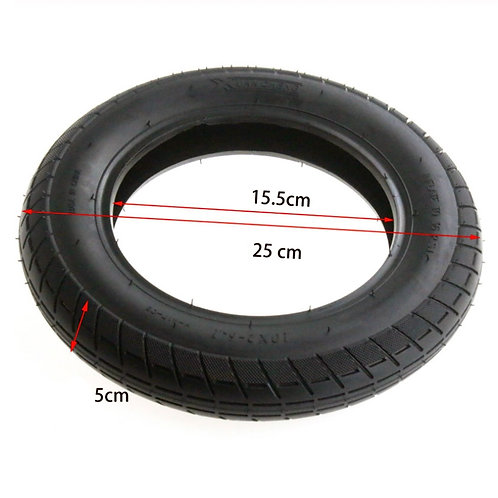 """Neumático 10""""x2"""" Xuancheng"""