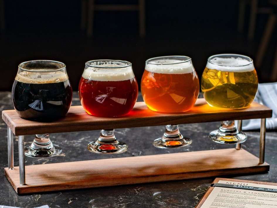 Walnut Beer Flight