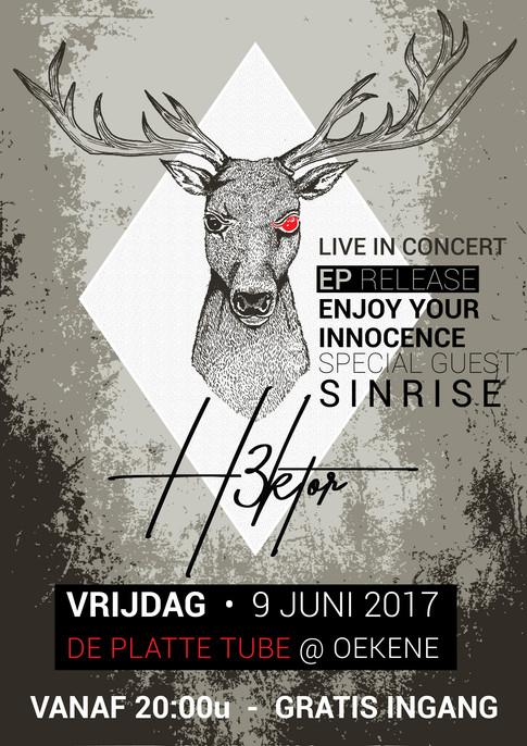 H3ktor EP release show @ De Platte Tubbe Oekene