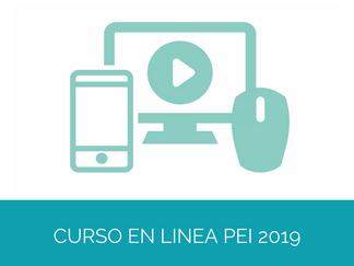 Curso en línea Convocatoria PEI 2019