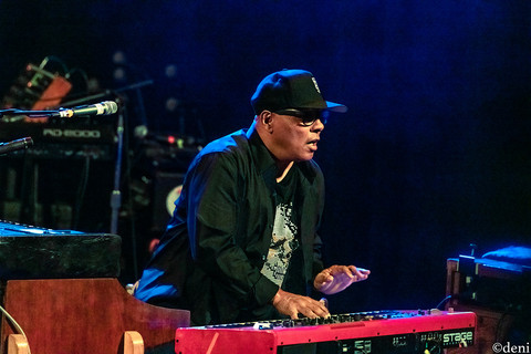 Ivan Neville, Dumpstaphunk, Aztec Theater, San Antonio, Texas, 08/23/2019, August 23 2019, vocals, vocalist, singing, singer, songwriter, keys, keyboards, pianist, pianist, synthesizer, One Nation Under A Groove, funk, band member, tour, concert, live music, Denise Enriquez, photography by deni, deni