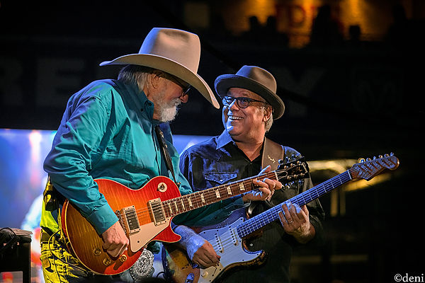 Charlie Daniels and Bruce Brown