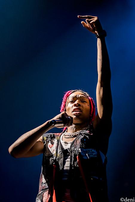 10/29/19, AT&T Center, concert, deni, live music, photography by deni, Post Malone, rap, rapper, Runaway Tour, San Antonio, singer, singing, songwriter, Tyla Yaweh, Texas, tour, vocalist, vocals, deni