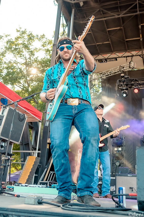 Logan Broadus, 8/03/2019, 8/17/2019, acoustic guitar, August 17 2019, August 3 2019, Austin, band, band member, Brushy Creek Amphitheater, concert, Denise Enriquez, electric guitar, guitar, guitar player, guitarist, Hard Livin Band, Hutto, Hutto Park at Brushy Creek, KOKE Fest 2019, lead guitar, live music, New Braunfels, photography by deni, Randall King Band, rhythm guitar, Texas, Texas Country, tour, Whitewater Amphitheater, deni