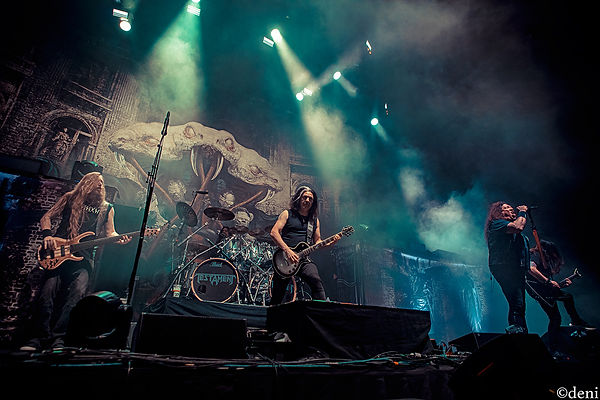Steve DiGiorgio, Gene Holgan, Alex Skolnick and Chuck Billy