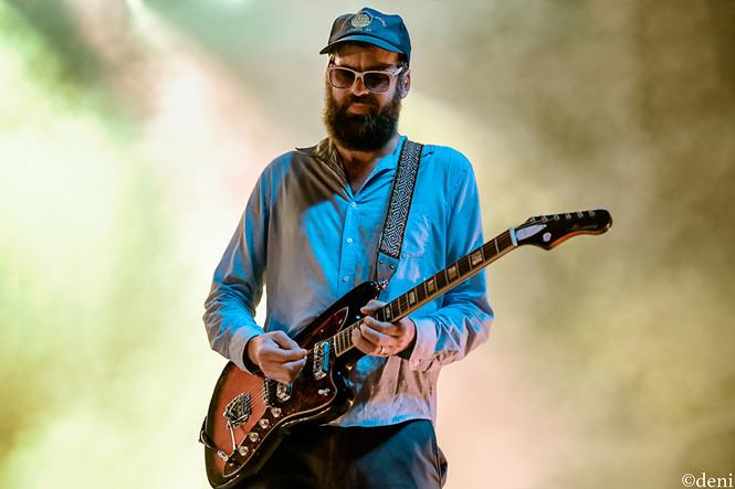 08/24/19, August 24 2019, band, band member, concert, Denise Enriquez, Dr Dog, electric guitar, Eric Slick, Frank McElroy, Guadalupe River, guitar, guitar player, guitarist, lead guitar, live music, New Braunfels, photography by deni, rhythm guitar, Scott McMicken, Texas, Toby Leaman, tour, Whitewater Amphitheater, Zach Miller, deni