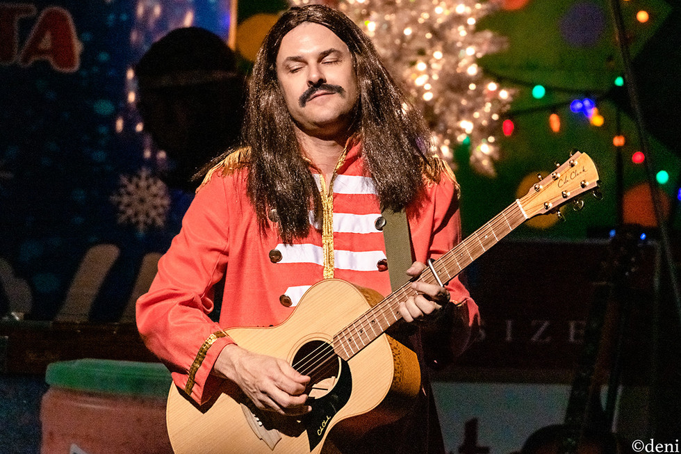 12/20/19, ACL, ACL LIVE, acoustic guitar, Austiin, Austin City Limits Live, band, band member, Christmas 2019, concert, Countdown to Christmas, Countdown to XMAS, December 20 2019, Denise Enriquez, electric guitar, guitar, guitar player, guitarist, lead guitar, live music, photography by deni, REK, rhythm guitar, Robert Earl Keen, Texas, tour, XMAS 2019, deni