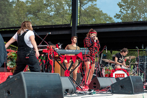 08/24/19, Abbie Morin, acoustic guitar, August 24 2019, band, band member, bass, bass guitar, bass player, bassist, Caroline Rose, concert, Denise Enriquez, drum, drummer, drums, electric guitar, Guadalupe River, guitar, guitar player, guitarist, keyboards, keys, lead guitar, live music, Mike Dondero, New Braunfels, percussion, percussionist, photography by deni, pianist, rhythm guitar, singer, singing, songwriter, synthesizer, Texas, tour, vocalist, vocals, Whitewater Amphitheater, Willoughby Morse, deni