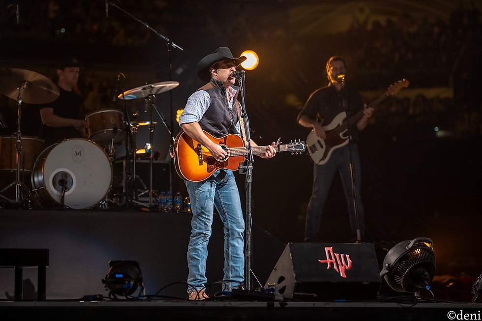 Aaron Watson Band, The Orphans of the Brazos, Aaron Watson, Jason Lerma, Jondan McBride, Damian Green, Nate Coon, Sterling Masat, 06032016, June 3 2016, Floore's Country Store, Helotes, Texas, 06082018, June 8 2018, Riverfront Station, Nashville, Tennesse, CMA Fest, 08102018, August 10 2018, Hutto Park at Brushy Creek, Hutto, Texas, KOKE FEST, 08032019, August 03 2019, Whitewater Amphitheater, New Braunfels, Texas, 02092020, February 9 2020, AT&T Center, San Antonio, Texas, San Antonio Rodeo 2020, Red Bandana, The Underdog, Vaquero, Texas Country Music, KOKE FM, vocals, vocalist, singing, singer, songwriter, guitar, guitarist, guitar player, lead guitar, rhythm guitar, electric guitar, acoustic guitar, bass, bassist, bass guitar, bass player, drum, drums, drummer, percussion, percussionist, fiddle, fiddler, violin, violinist, strings, banjo, banjo player, banjoist, bluegrass, music festival, tour, concert, live music, Denise Enriquez, photography by deni, deni