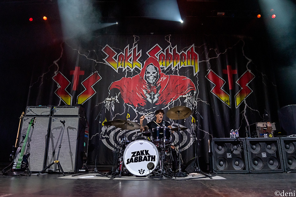 08/28/19, August 29 2019, Aztec Theater, band, band member, concert, Denise Enriquez, drum, drummer, drums, Joey Castillo, John DeServio, live music, percussion, percussionist, photography by deni, San Antonio, Texas, tour, Zakk Sabbath, Zakk Wylde, deni