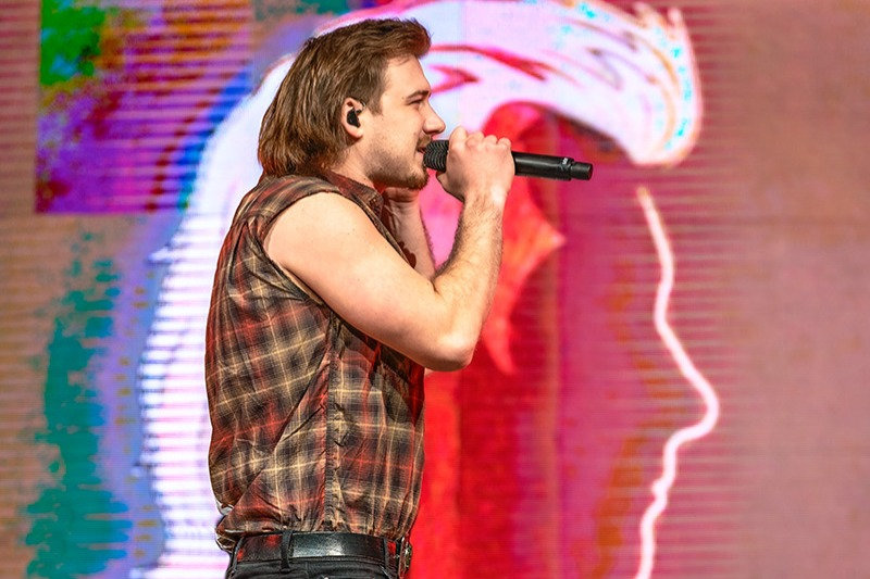 Morgan Wallen Band, Morgan Wallen, Dominic Frost, Luke Rice, Mark Annino, Tyler Tomlinson, 02172020, February 17 2020, AT&T Center, San Antonio, Texas, San Antonio Rodeo, Country Music, vocals, vocalist, singing, singer, songwriter, guitar, guitarist, guitar player, lead guitar, rhythm guitar, electric guitar, bass, bassist, bass guitar, bass player, drum, drums, drummer, percussion, percussionist, concert, live music, Denise Enriquez, photography by deni, deni