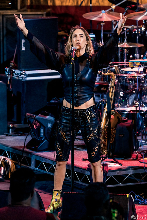 Miss Velvet, Miss Velvet and The Blue Wolf, Aztec Theater, San Antonio, Texas, 08/23/2019, August 23 2019, vocals, vocalist, singing, singer, songwriter, One Nation Under A Groove, funk, band, band member, tour, concert, live music, Denise Enriquez, photography by deni, deni