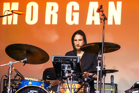03/16/18, ATX, Austin, band, band member, concert, Denise Enriquez, drum, drummer, drums, live music, March 16 2018, Morgan Saint, music fest, music festival, percussion, percussionist, photography by deni, Sony - Lost In Music, Sony House, South By Southwest, SXSW 2018, Texas, tour, deni