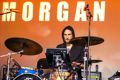 drums, Morgan Saint