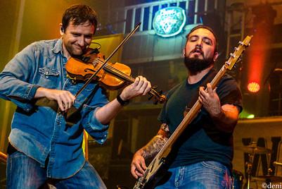 Daniel Almodova - fiddle, Zach Brents