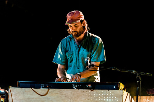 08/24/19, August 24 2019, band, band member, concert, Denise Enriquez, Dr Dog, Eric Slick, Frank McElroy, Guadalupe River, keyboards, keys, live music, New Braunfels, photography by deni, pianist, Scott McMicken, synthesizer, Texas, Toby Leaman, tour, Whitewater Amphitheater, Zach Miller, deni
