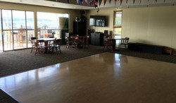 Dance Floor and Large Dining Room