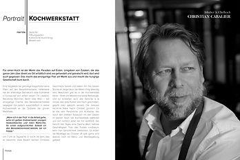 Christian Cabalier Die Kochwerkstatt Bookazine Benediktinermarkt