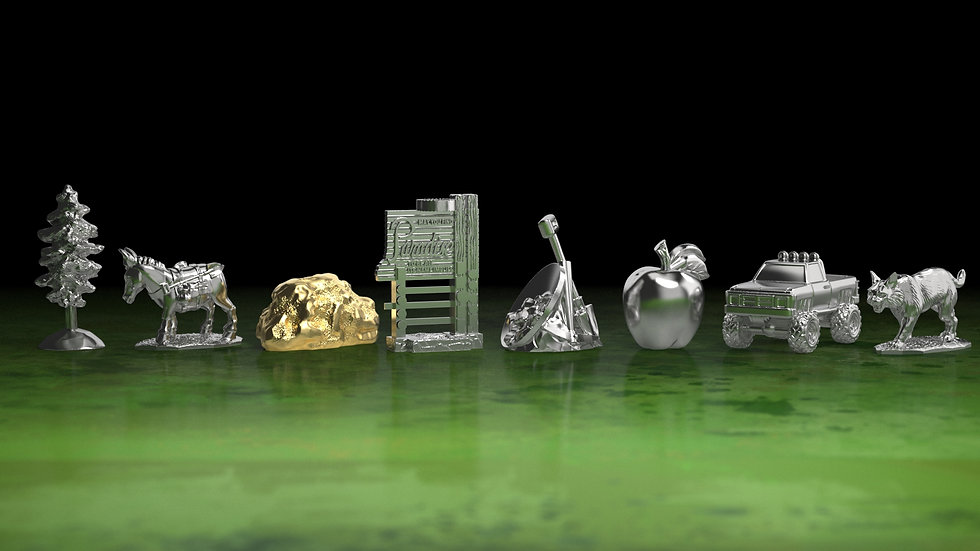Replacement Metal Player Pawns(Pre-Order)