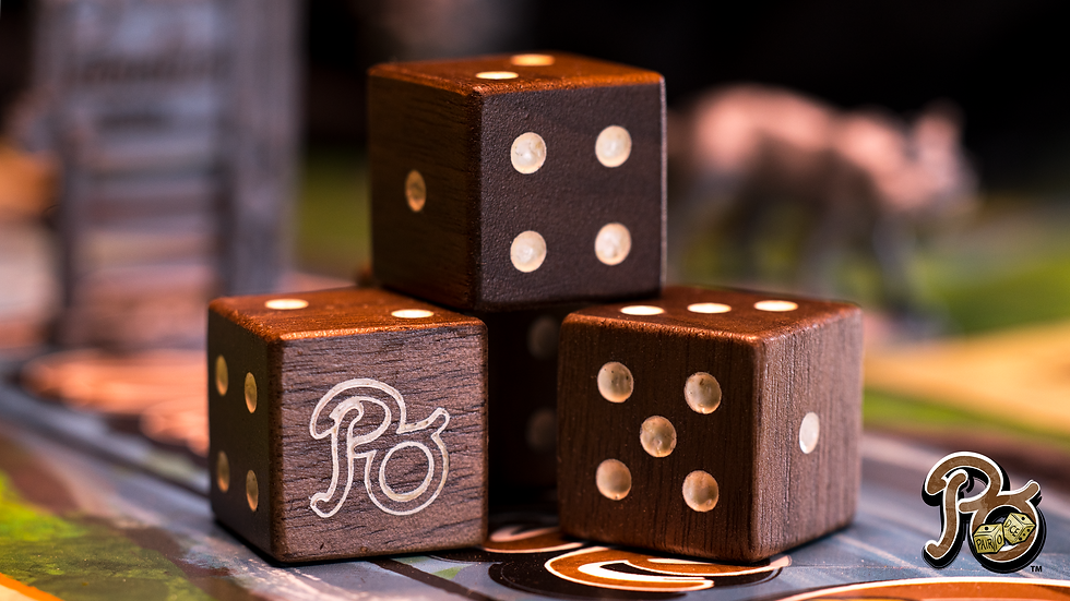 Special Edition Hard Wood Dice Set(Pre-Order)