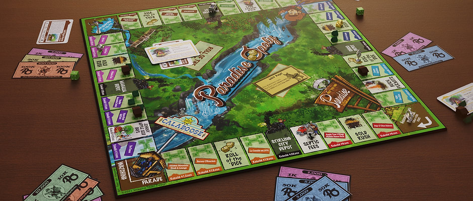 Paradise-Opoly Board Game(Pre-Order)