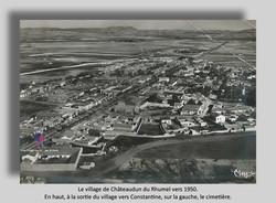 Chateaudun du Rhumel vers 1950