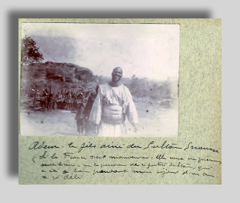 Le Fils du Sultan Senoussi