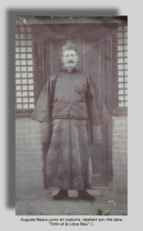 Auguste Beaux en Chine