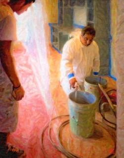 Mixing Spray Paint