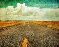 Highway to Davis Mts_