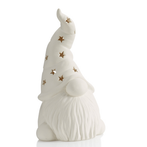 Tall Hatted Gnome Lantern