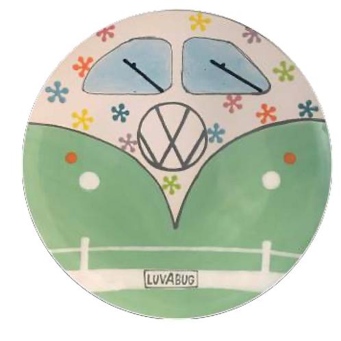 VW Luvabug Bus Plate