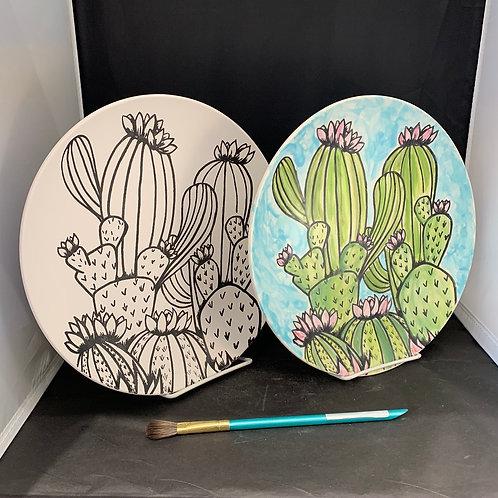 Cactus Dinner Plate