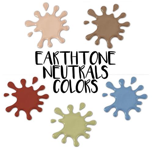 Earthtone Neutrals Palette