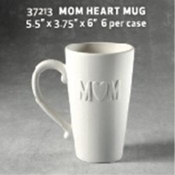 Mom Heart Mug
