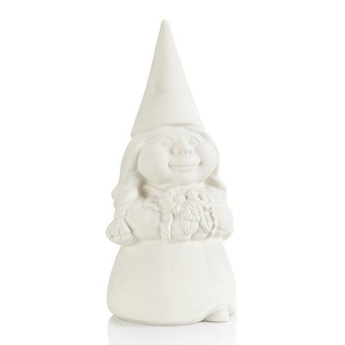 "Woman Gnome (12.5""H)"