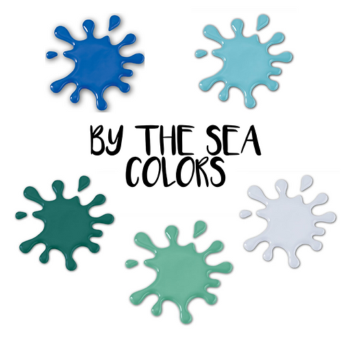 By the Sea Palette