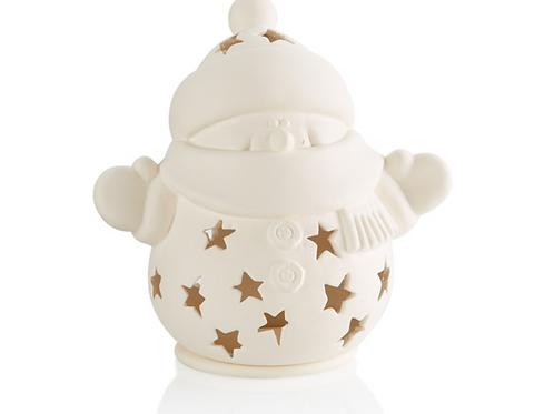 Snuggles the Snowman Lantern