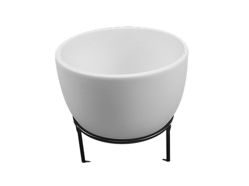 Lg. Oval Planter W/ Stand